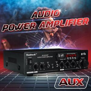 Sunbuck-AV-501BT-2000W-bluetooth-Amplifier-2Ch-Stereo-AMP-AUX-FM-SD-USB-Home-Car