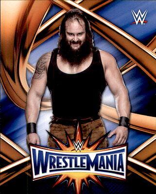 2017 Topps WWE Road to WrestleMania 33 Roster Insert #WMR-26 Sami Zayn
