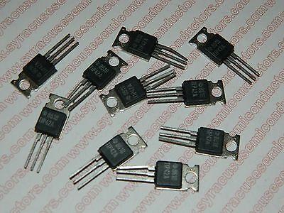 PKG of 10 1A 450V TO-220 TIP49 NPN Power Transistor Texas Instruments