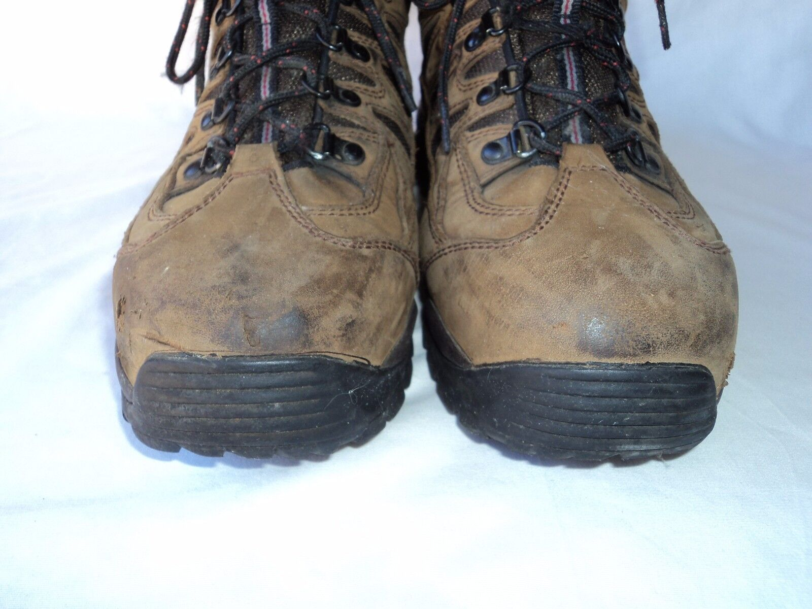 MENS RED WING ASTMF 2413-11 STEELTOE SAFETY WORK BOOTS SIZE 11.5 E Brown