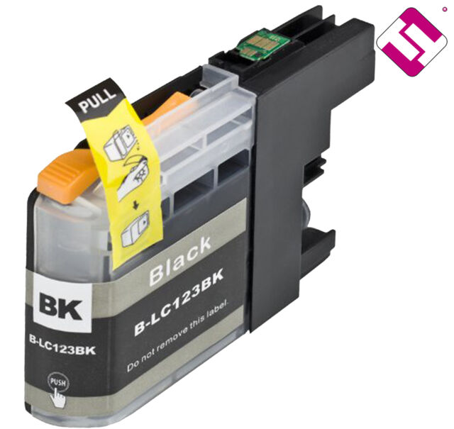 Ink Lc121bk V2 Black Compatible DCP J552dw Brother Cartridge Black Non OEM