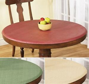 Elastic Fitted Vinyl Indoor Outdoor Round Patio Table