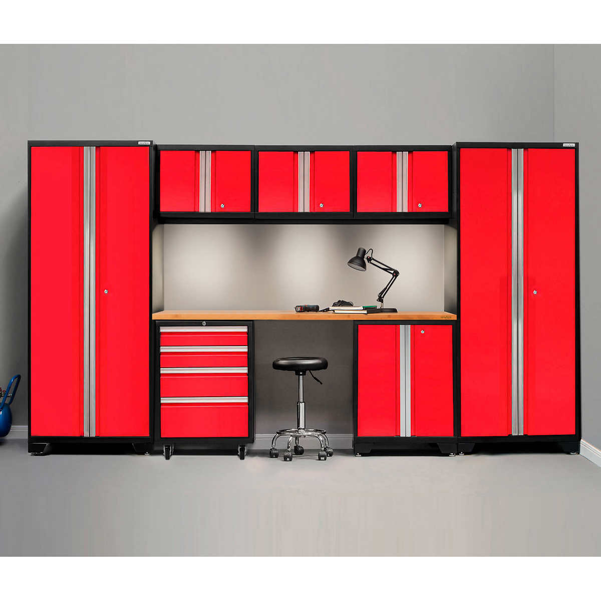 NewAge Products Bold 3.0 Series 8-piece Set Red