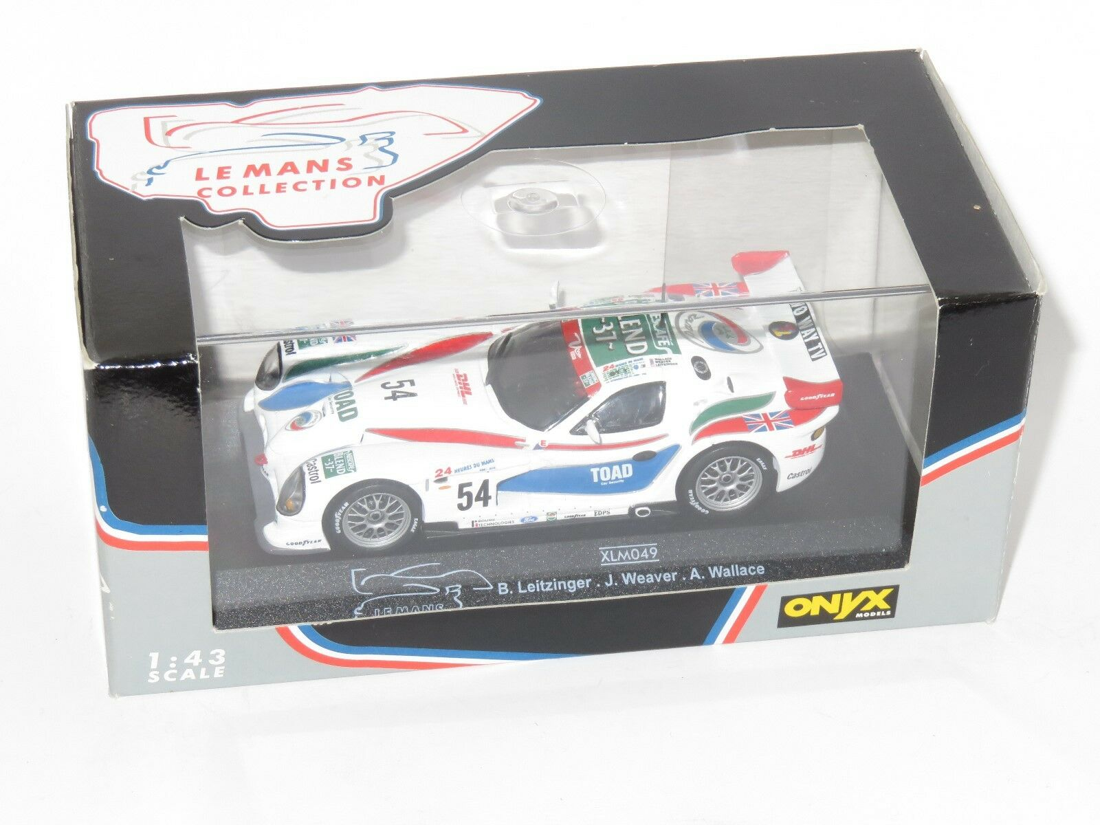 1 1 1 43 Panoz Ligas GTR-1 Le Mans 24 HRS 1997  54 David Price Racing eb4df2