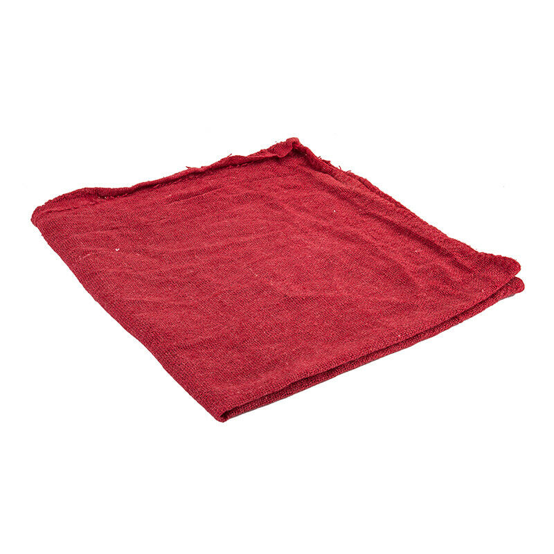 Sunlite Red Shop Towels Cleaning Cloth Red Cotton Pkof50
