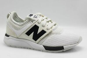Details about New Balance Kids 247 Trainers Running Shoes B23/270 White Size 31