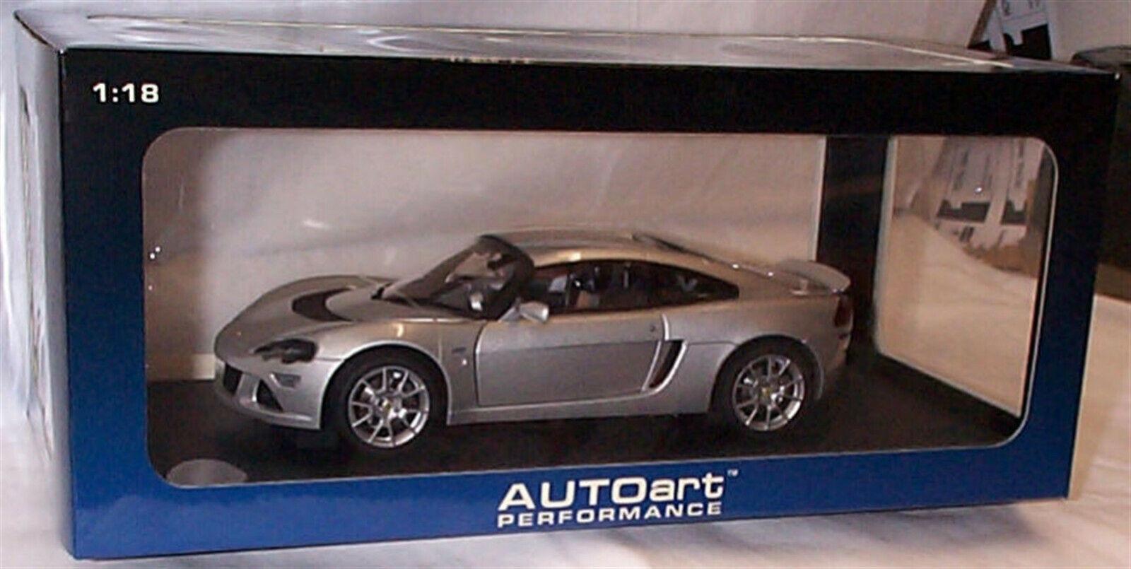 Lotus Europa S argento Autoart 75366 RHD Nuevo En Caja Escala 1-18 Piezas De Apertura