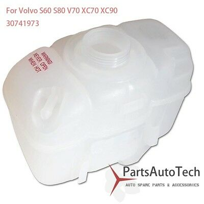 Coolant Reservoir Overflow Tank for Volvo 1999-2009 C70 S60 S70 S80 V70 Free Cap