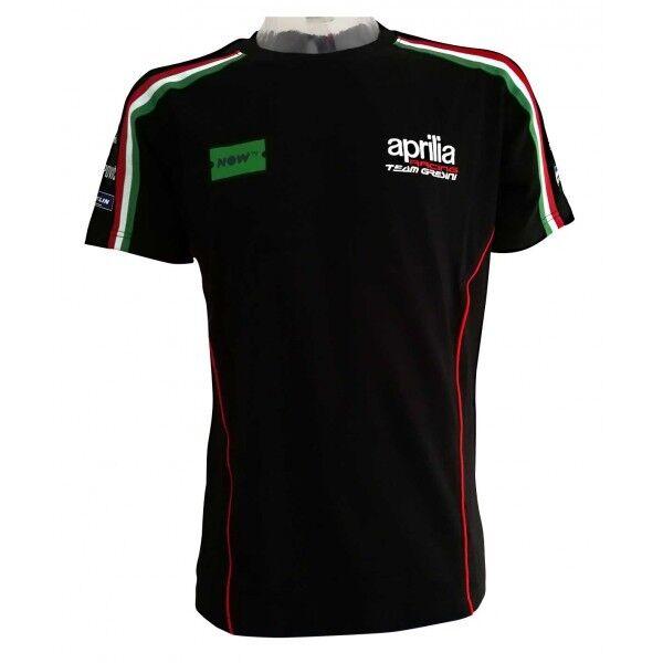 2018 Oficial Gresini Aprilia Motogp Equipo Camiseta - A1tsmc18rem