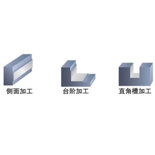 D5MM 4Flute Flat End Mill HRC55 tungsten steel milling cutter PM-4E-D5.0 ×2PCS
