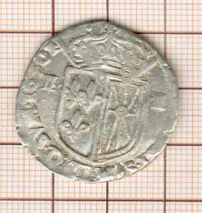 Louis XIII Or Louis XIV ? 1/4 Quarter ECU Of Navarre 1630 Or 1650