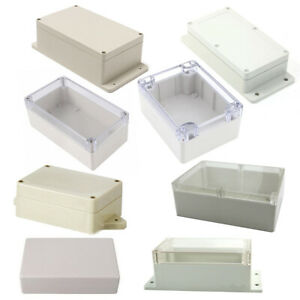 16Size-Waterproof-Plastic-Cover-Project-Electronic-Case-Instrument-Enclosure-Box