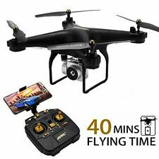 40MINS(20mins + 20mins) Long Flight Time Drone JJRC JJPRO H68 RC Quadcopter with