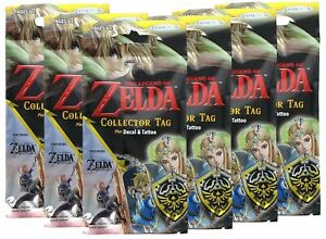 The-Legend-Of-Zelda-Collector-039-s-Dog-Tags-Fun-Packs-Lot-of-6
