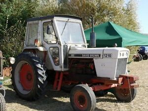 Details about David Brown 1210 & 1212 Tractor Operators Manual PDF on