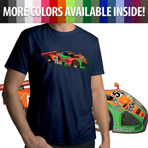 Team-Mazda-787B-Racing-Le-Man-Race-Car-Mens-Tee-Unisex-T-Shirt-Gift-Shirts-S-3X