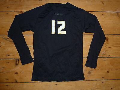"m Objective ""callum Preston"" #12 Crawley Town Fc Baselayer Football Shirt 2015/16 Gk Smoothing Circulation And Stopping Pains"