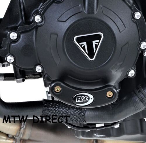 R/&G RACING LHS ENGINE CASE SLIDER FOR Triumph Speed Triple S 2016 2017