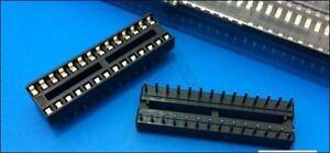 20Pcs 28 Pin 28-Pin Dil Dip Socket Pcb Mount Connector yf