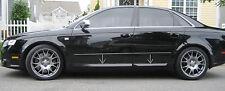 AUDI A4 B7 S4 LOOK SIDE BLADES / DOOR BLADES / DOOR BAR !!! NEW !!! NEW !!!