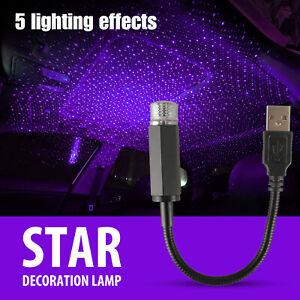 USB-Car-Interior-Roof-Atmosphere-Starrry-Sky-Lamp-Star-Light-LED-Projector-Light