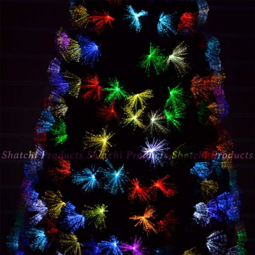 5ft 150cm Fibre Optic Christmas Tree Multi Colour Changing with Various Effects