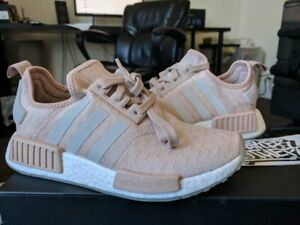 cb825a58f Adidas NMD R1 Runner W Nomad Women s Ash Pearl Chalk Pink 3M White ...