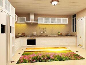 3D-Sun-Flowers-94-Kitchen-Mat-Floor-Murals-Wall-Print-Wall-AJ-WALLPAPER-AU-Carly