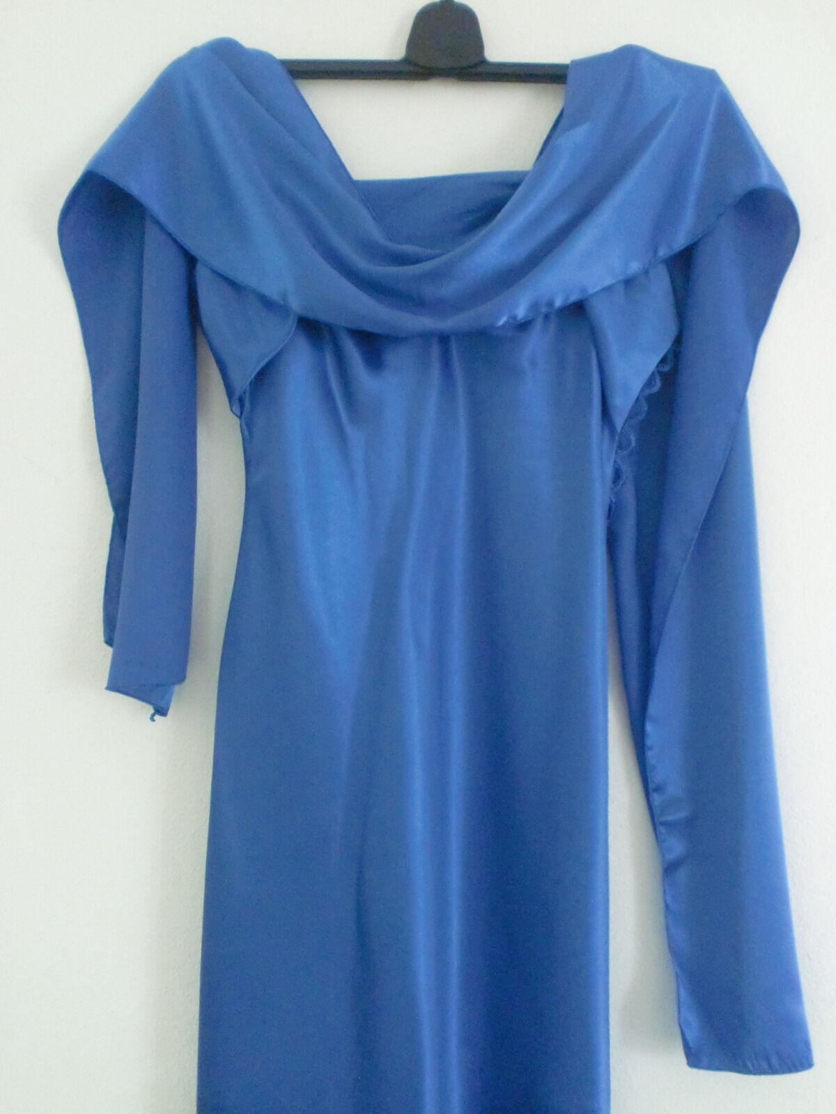 Damen Abendkleid in blau Gr.M