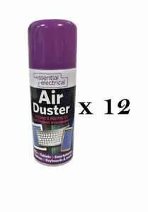 12-x-200ml-Compressed-Air-Duster-Cleaner-Can-Canned-Laptop-Keyboard-Mouse-Phones