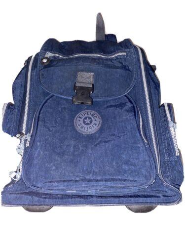 Kipling Roller Bag Navy Blue