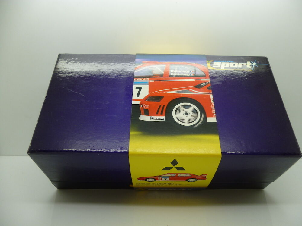 Scalextric C2365 Mitsubishi Lancer Evolution 7 WRC WRC WRC No.7, mint unused boxed 78a73c