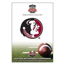 BCS Florida State vs. Auburn 2014 National Championship Game [DVD] NEU NFL NCAA