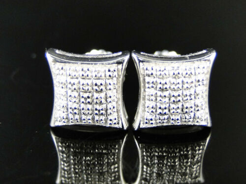 Ladies/Mens Genuine Diamond Studs 9Mm Kite Earrings