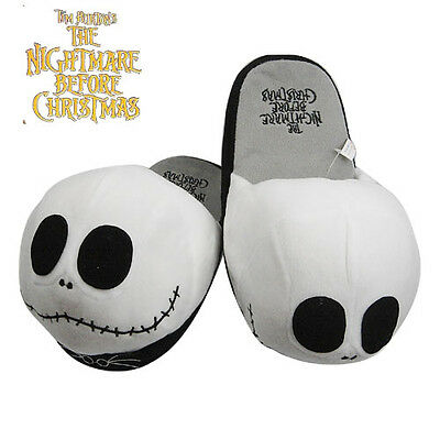 Nightmare Before Christmas Soft Plush Slipper one Pair