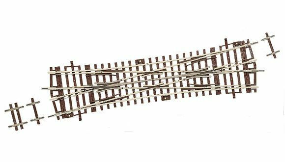 Roco H0 42451 Doppelkreuzungsweiche 15° NEU + OVP