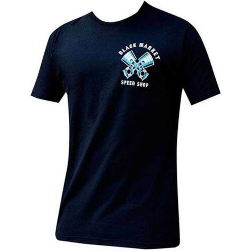 Men/'s Speed Shop Motorcycle Biker Tattoo Art Black Market Panther Tee T-shirt