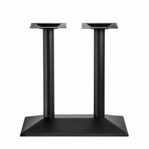 Tischgestell Tischbein Tischfuß Doppelt Einzel Tischuntergestell Tisch Schwarz