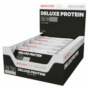 MUSASHI-Deluxe-Protein-12-x-60g-Bars-Delicious-Protein-Bar-Quick-Snack