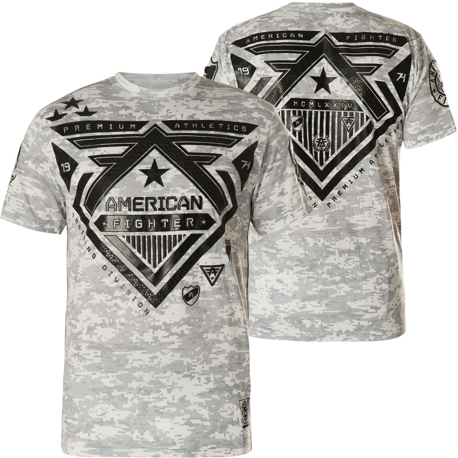 AMERICAN FIGHTER Affliction T-Shirt Wolf Lake Weiß T-Shirts
