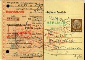 411960-DR-Scheck-Postkarte-aus-Berlin-1941-EF-3-Pf-Hindenburg-Medaillon