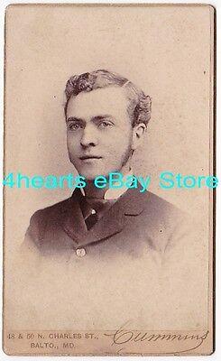 G16-1108 Walter Rowe - PA & Greensboro, NC  - 1883 Univ of Maryland DDS - id'd