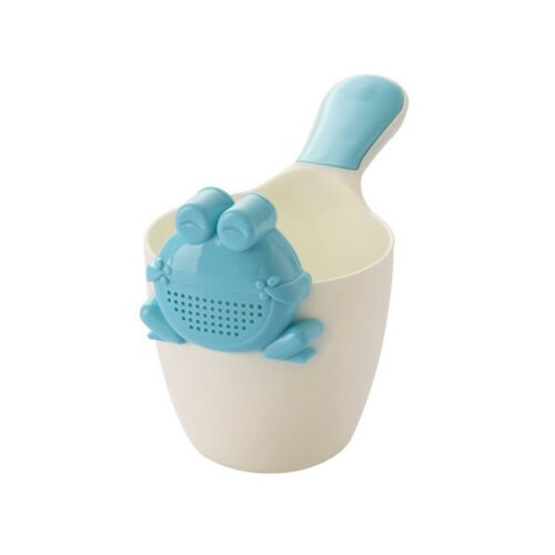 Baby Shower Cup Frog Style Kids Bathing Water Scoop Cute Shampoo Rinse Sprinkler