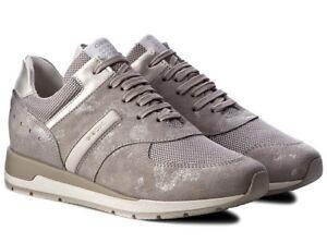 GEOX-SHAHIRA-D72N1A-scarpe-donna-sneakers-pelle-camoscio-tessuto-casual-zeppa