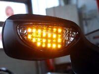 LED Rücklicht Heckleuchte und schwarze LED-Blinker Suzuki GSX-R 1000 K5 K6 GSXR