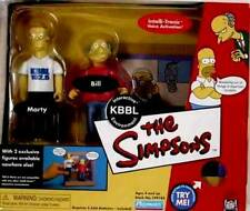 Simpsons Playmates Toys KBBL Radio Interactive 2 Pack New 2002
