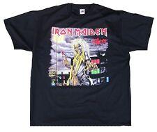 Geil! Official Iron Maiden I 'm a Killer estrella de rock heavy metal Black T-Shirt XXL