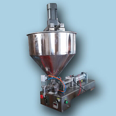 mixing machine,1000ml liquid paste chilly sauce filling machine,piston filler