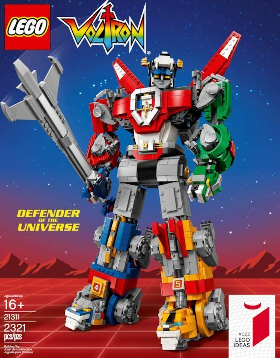 LEGO 21311 IDEAS 022 VOLTRON DEFENDER OF THE UNIVERSE - NUOVO - SIGILLATO