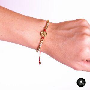 Kavak - Handmade Fire Beads Adjustable Women's Bracelet